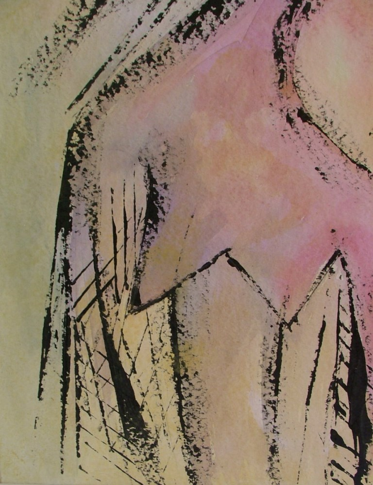 WIFREDO LAM - El Par - Gouache on paper - Image 6 of 6