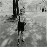 DIANE ARBUS - Child with a Toy Hand Grenade in Central Park, New York - Original vintage photogra...