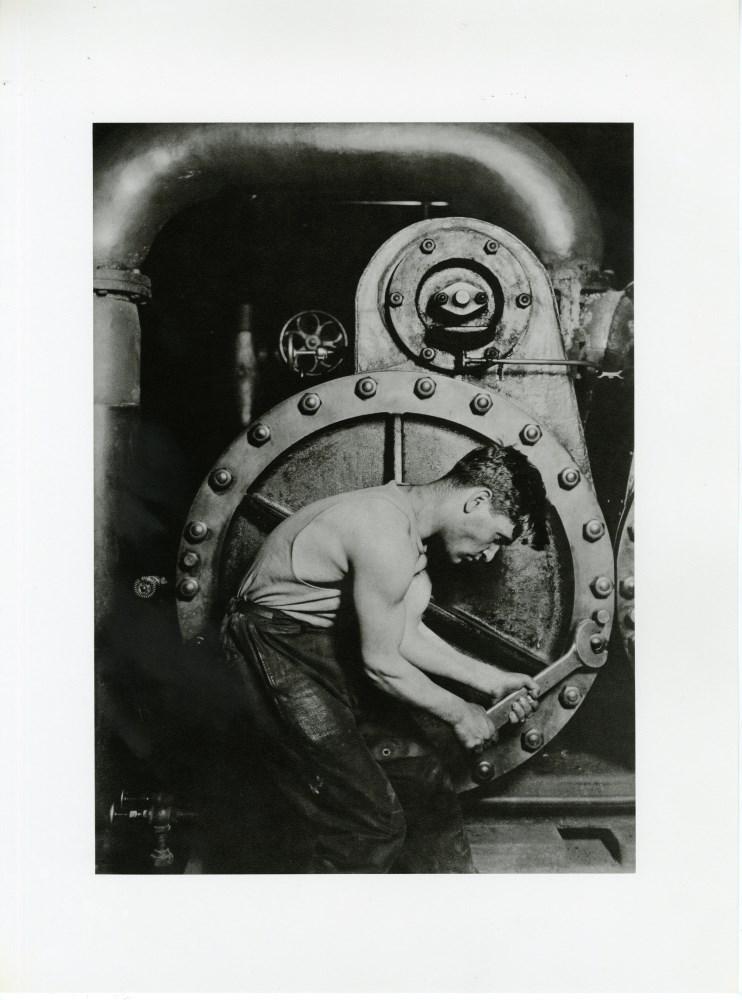 LEWIS HINE - Powerhouse Mechanic - Original photogravure