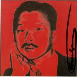 ANDY WARHOL - Michael Chow - Color offset lithograph