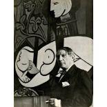 CECIL BEATON - Pablo Picasso, rue de la Boetie #2 - Original vintage photogravure