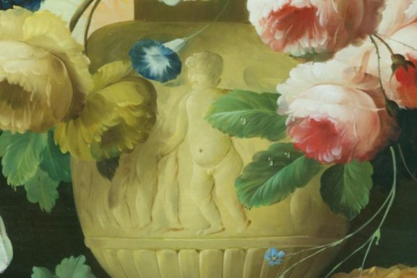 THOMAS A. LEE - Floral Still Life - Oil on canvas - Image 9 of 10
