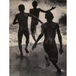MARTIN MUNKACSI - Three Naked Boys at Lake Tanganyika - Original vintage photogravure