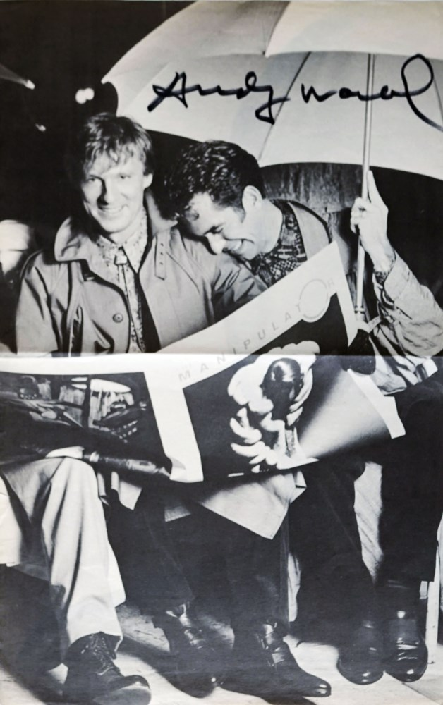 ANDY WARHOL - Interview Magazine: David Colby et al - Offset lithograph - Image 2 of 3
