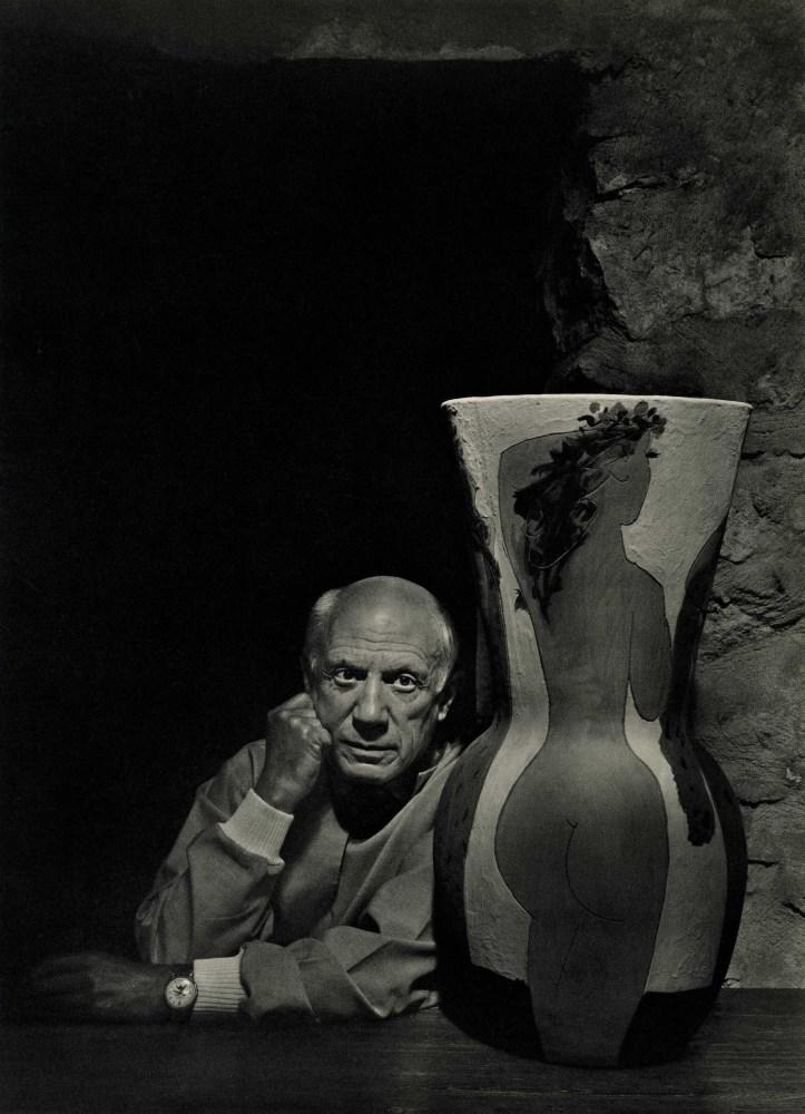 YOUSUF KARSH - Pablo Picasso II - Original vintage photogravure