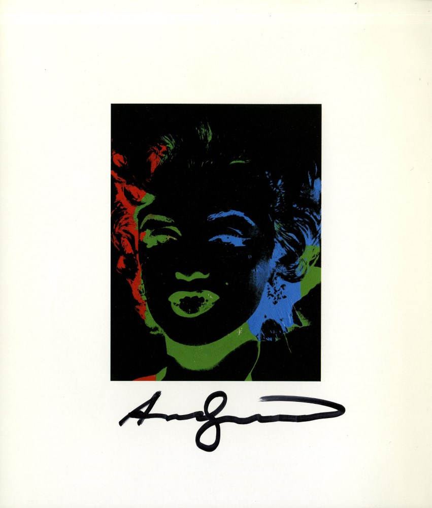 ANDY WARHOL - One Multicolored Marilyn #2 - Color offset lithograph