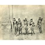 HENRI CARTIER-BRESSON - Five Naked Boys - Original vintage photogravure