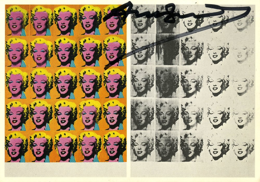 ANDY WARHOL - Marilyn Diptych - Original color offset lithograph