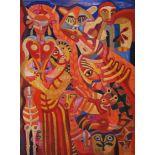 KARIMA MUYAES - Goddesses (Diosas) - Oil on canvas