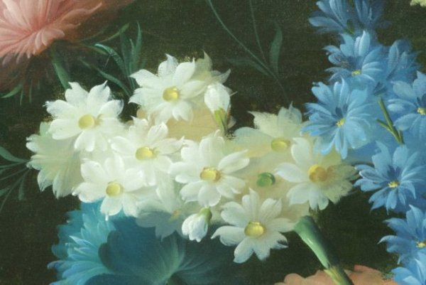 THOMAS A. LEE - Floral Still Life - Oil on canvas - Image 6 of 10