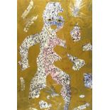 KARIMA MUYAES - Boy in the Forest - Color stencil monoprint