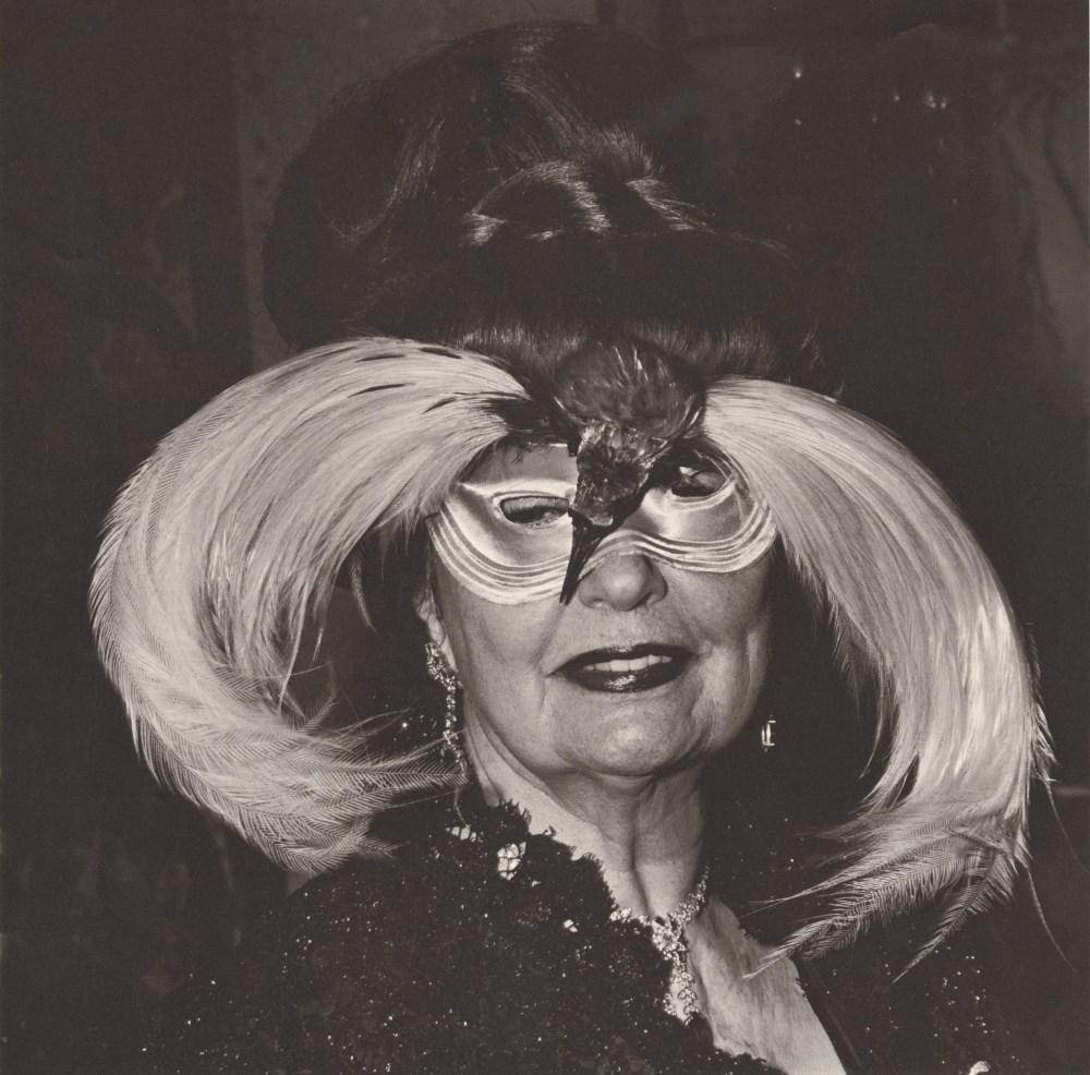 DIANE ARBUS - Woman in a Bird Mask, N.Y.C - Original vintage photogravure