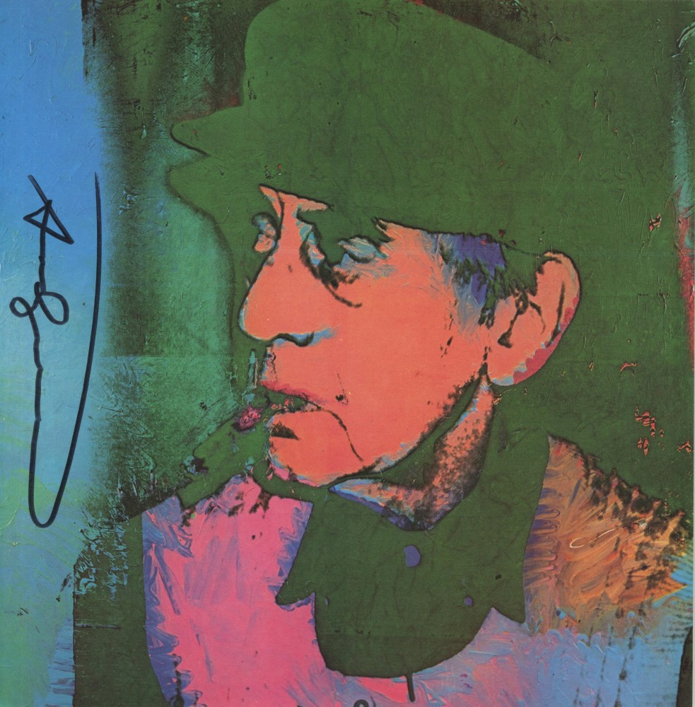 ANDY WARHOL - Man Ray #2 - Color offset lithograph