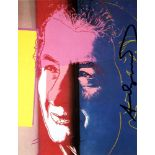 ANDY WARHOL - Golda Meir - Color offset lithograph