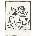 KEITH HARING - Naples Suite #10 - Lithograph