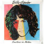 ANDY WARHOL - Billy Squier #2 - Original color offset lithograph