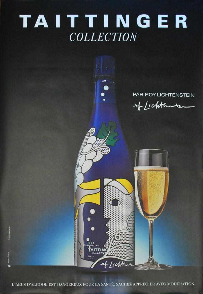 ROY LICHTENSTEIN - Taittinger Collection par Roy Lichtenstein - Color offset lithograph