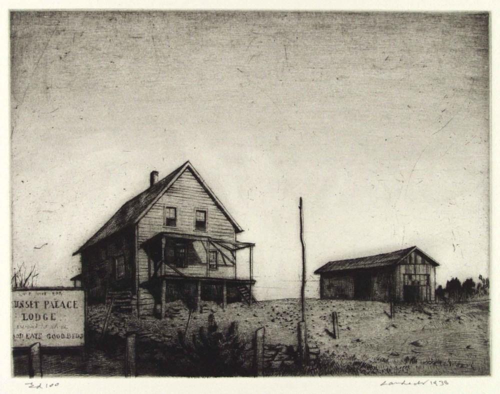 ARMIN LANDECK - Sunset Palace Lodge - Drypoint