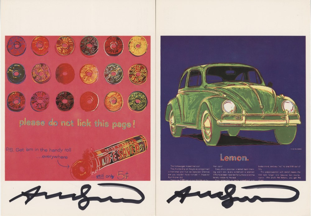 ANDY WARHOL - Ads Suite - Color offset lithographs - Image 7 of 10