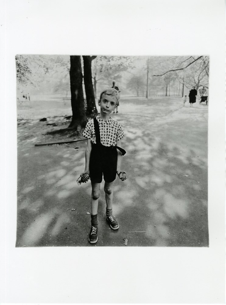 DIANE ARBUS - Child with a Toy Hand Grenade in Central Park, New York - Original photogravure