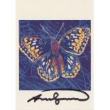 ANDY WARHOL - San Francisco Silverspot - Color offset lithograph