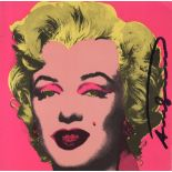 ANDY WARHOL - Marilyn - Original color offset lithograph