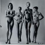 HELMUT NEWTON - Sie Kommen, Dressed/Sie Kommen, Naked - Original vintage photolithographs