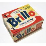 ANDY WARHOL - Brillo Pads Box - Color inks on stiff paperboard