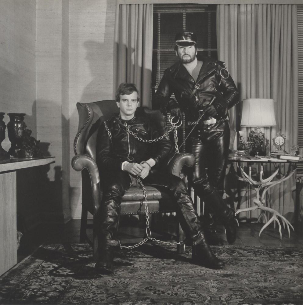 ROBERT MAPPLETHORPE - Brian Ridley and Lyle Heeter - Original vintage photogravure