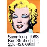 ANDY WARHOL - Marilyn - Color offset lithograph