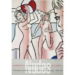 ROY LICHTENSTEIN - Nudes with Beach Ball - Color offset lithograph