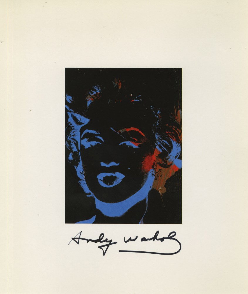 ANDY WARHOL - One Multicolored Marilyn #1 - Color offset lithograph