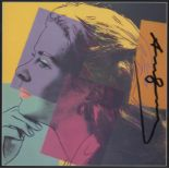 ANDY WARHOL - Ingrid Bergman: Herself (03) - Color offset lithograph