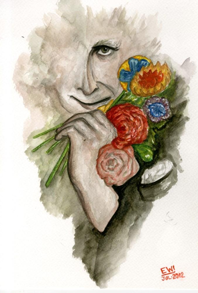 ESTELA WILLIAMS - Chagall - Watercolor on paper