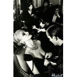 HELMUT NEWTON - Givenchy & Bulgari, French Vogue - Original photolithograph