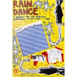 ANDY WARHOL & VARIOUS ARTISTS - Rain Dance - Original color offset lithograph