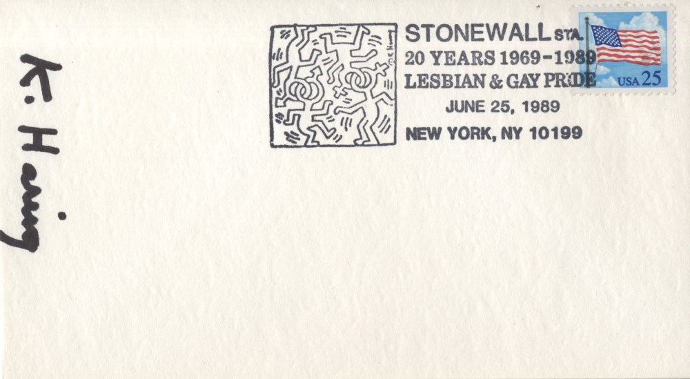 KEITH HARING - Stonewall Station - Offset lithograph