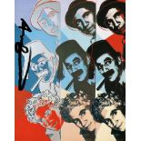 ANDY WARHOL - The Marx Brothers - Color offset lithograph