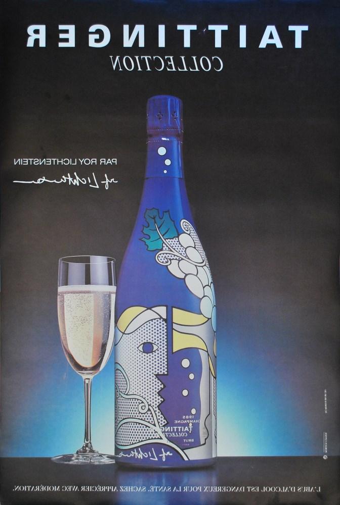 ROY LICHTENSTEIN - Taittinger Collection par Roy Lichtenstein - Color offset lithograph - Image 2 of 2