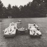 DIANE ARBUS - Family on Their Lawn One Sunday in Westchester, N.Y - Original vintage photogravure