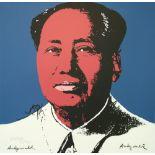 ANDY WARHOL [d'apres] - Mao #09 - Color lithograph