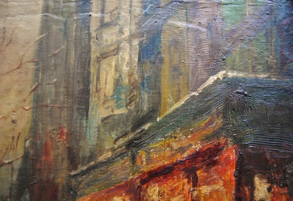 EDOUARD CORTES [d'apres] - Parisian View - Oil on canvas - Image 6 of 10