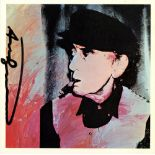 ANDY WARHOL - Man Ray #8 - Color offset lithograph
