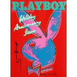 ANDY WARHOL - Playboy - Color offset lithograph