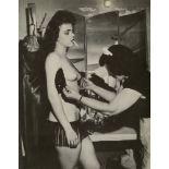 WEEGEE [arthur h. fellig] - Personal Maid - Original vintage photogravure