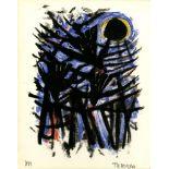 RUFINO TAMAYO - Tres Aves y el Sol - Color lithograph