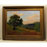 BRUCE CRANE [imputee] - The Lone Tree - Oil on canvas