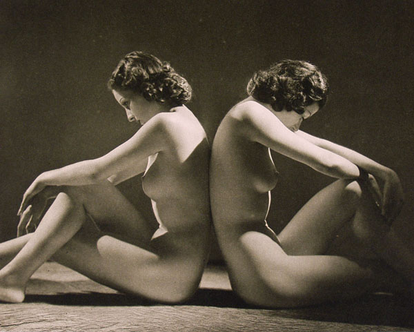 JOHN EVERARD - Nudes No. 24 - Original vintage photoetching