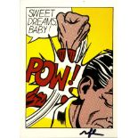 ROY LICHTENSTEIN - Sweet Dreams Baby! - Color offset lithograph