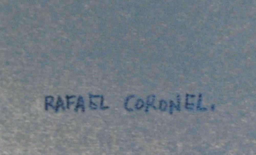 RAFAEL CORONEL - Dama para Rubens - Color offset lithograph - Image 3 of 5